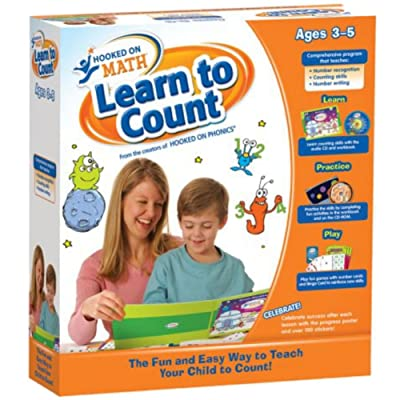 Hooked On Phonics Math Learn to Count: Software