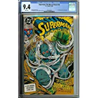 SUPERMAN: THE MAN OF STEEL #18 CGC 9.4 WHITE PAGES