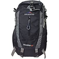 Inlander A2ZIL1018BKBP Polyester Rucksack with Rain Cover, Medium (Black)