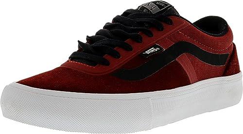 cb43bf34f5 Vans AV Rapidweld Pro Red Dahlia White Ankle-High Skateboarding Shoe - 8M  6.5