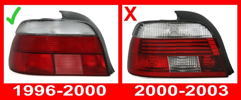 Lot de phares AD Tuning GmbH /& Co Rouge//Noir Feux arri/ère - KG 960072