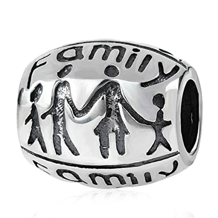 Amazon Choruslove Happy Family Forever Together Charm 925