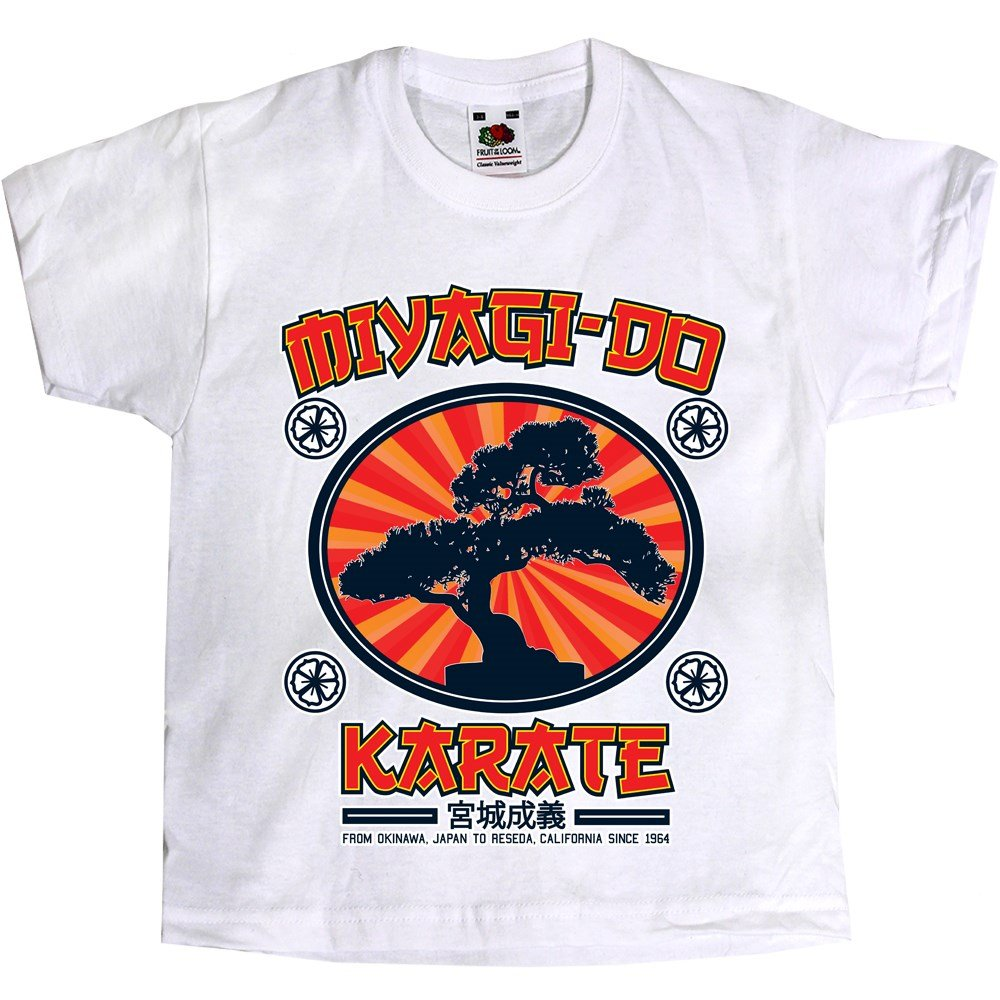 Grindstore Miyagi-Do Karate Kids White T-Shirt
