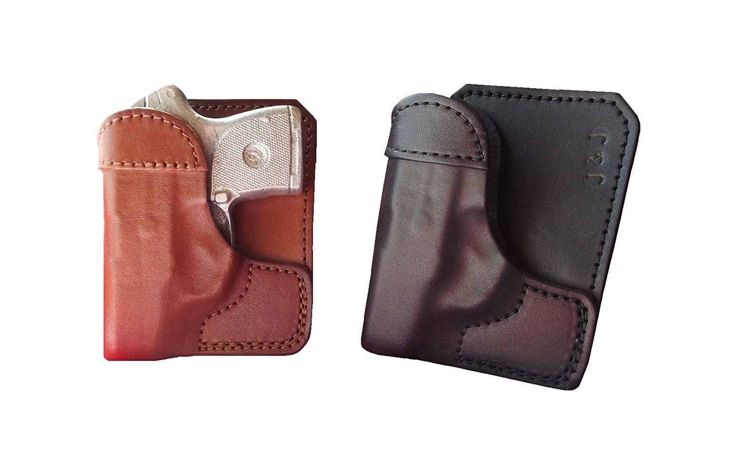 Amazon com : J&J Custom Fit RUGER LC9S Formed Wallet Style