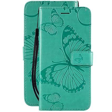 CMID Cover iPhone XR PU Cuoio Portafoglio Custodia Libro Antiurto