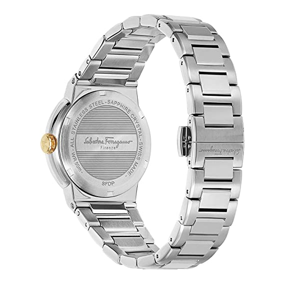 Ferragamo Salvatore 34mm 80 Damen Quarz Armbanduhr F Analog ALc43jR5q