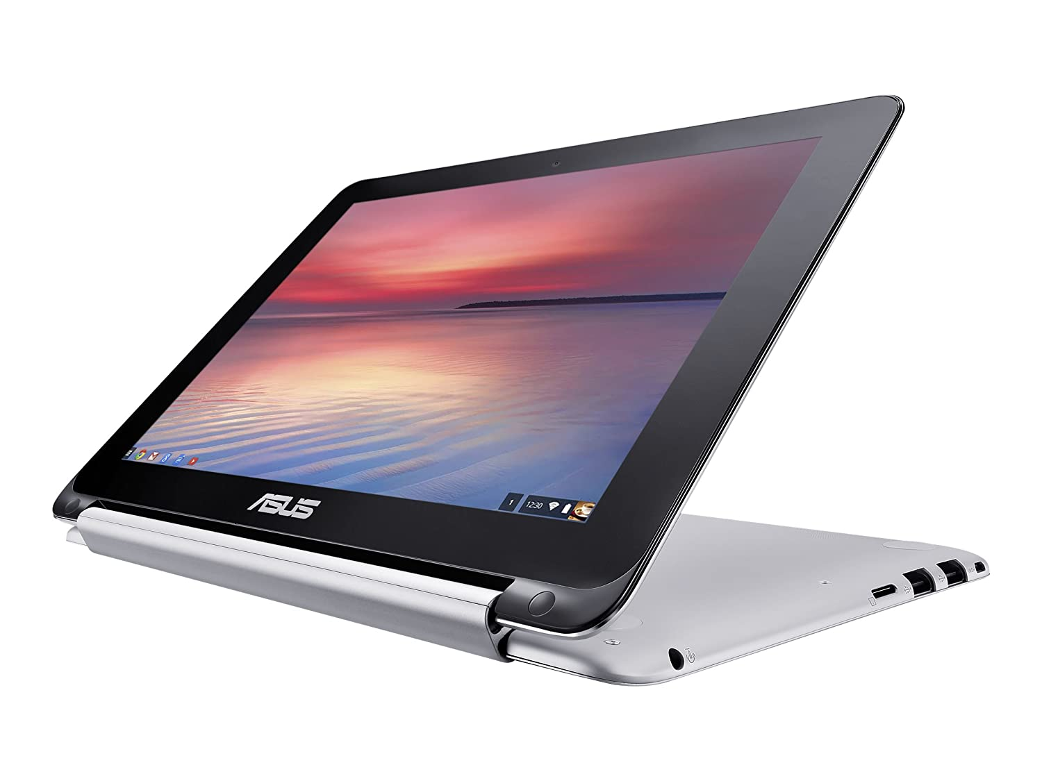 The Asus C100 is a 2-in-1 convertible Chromebook that makes a perfect fit for students or creative people.