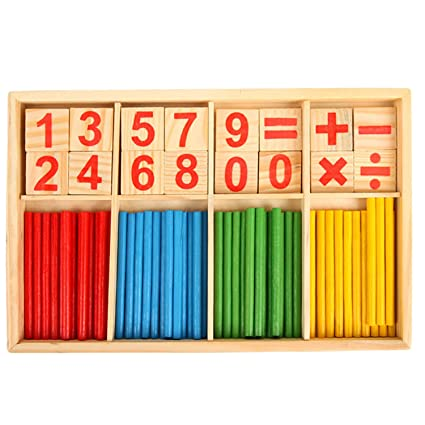 Gosear Baby Stick Mathematical Math Toy Kids Educational Toy