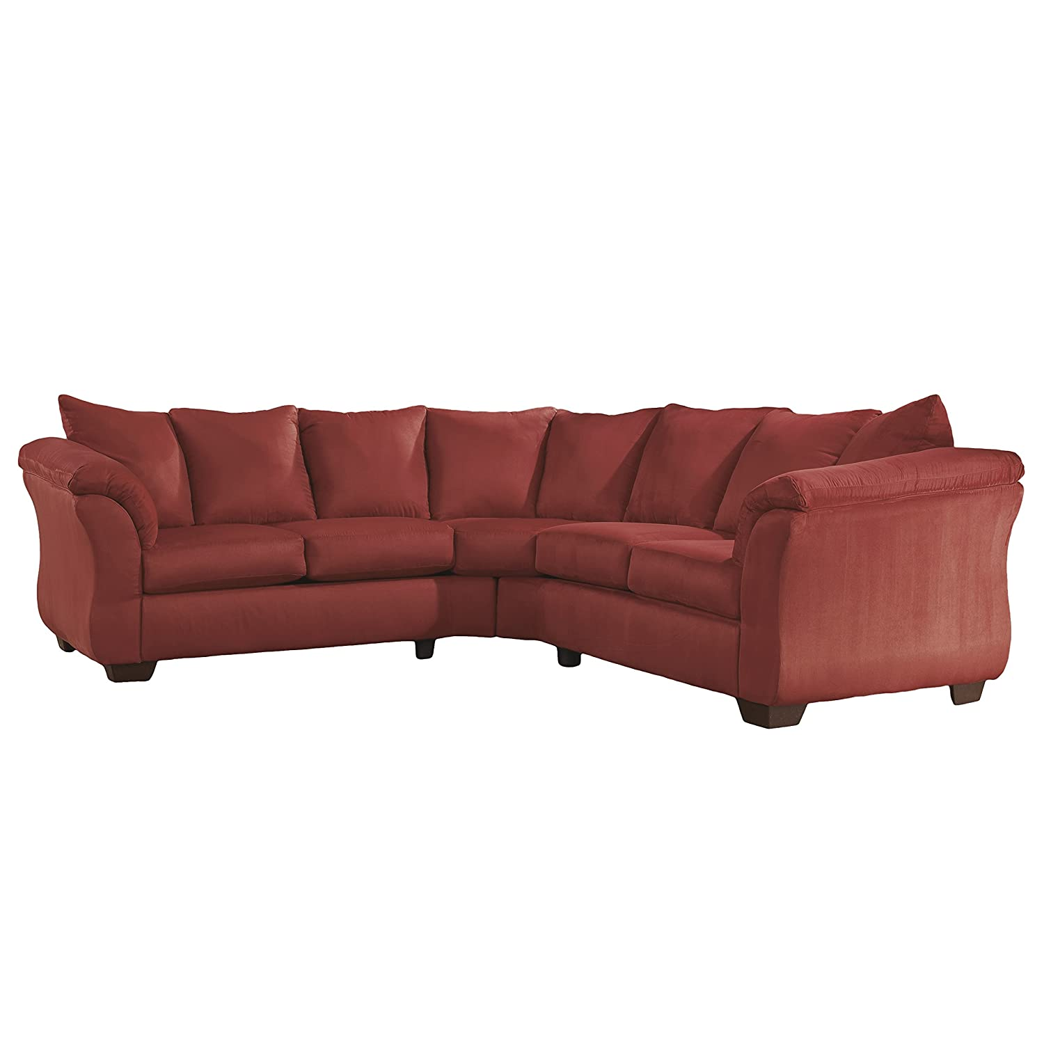 Amazon Signature Design by Ashley Darcy Sectional in Cafe