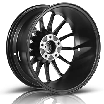 Amazon Com Maxauto 2 Pcs 17x7 5 5x112 73 1 35 Matte Black Rims