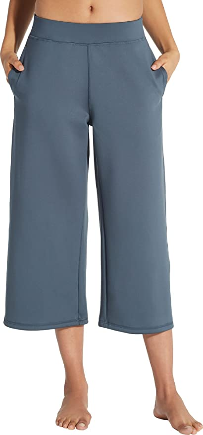 caa267fc39332 Image Unavailable. Image not available for. Color: CALIA by Carrie Underwood  Women's Limited Edition Lumia Scuba Wide Ankle Cropped Pants ...
