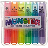 International Arrivals 130-24 Mini Monsters Scented Markers, Set of 6