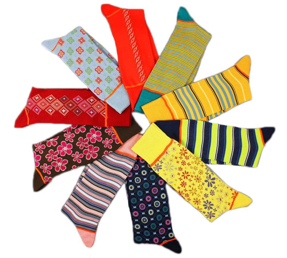 Stanley Lewis 'GQ' Mega Box of Men's Socks - 10 Pair by Stanley