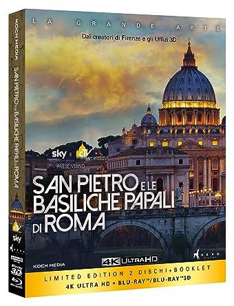San Pietro E Le Basiliche Papali Di Roma Blu-Ray 3D+Blu-Ray 4K ...