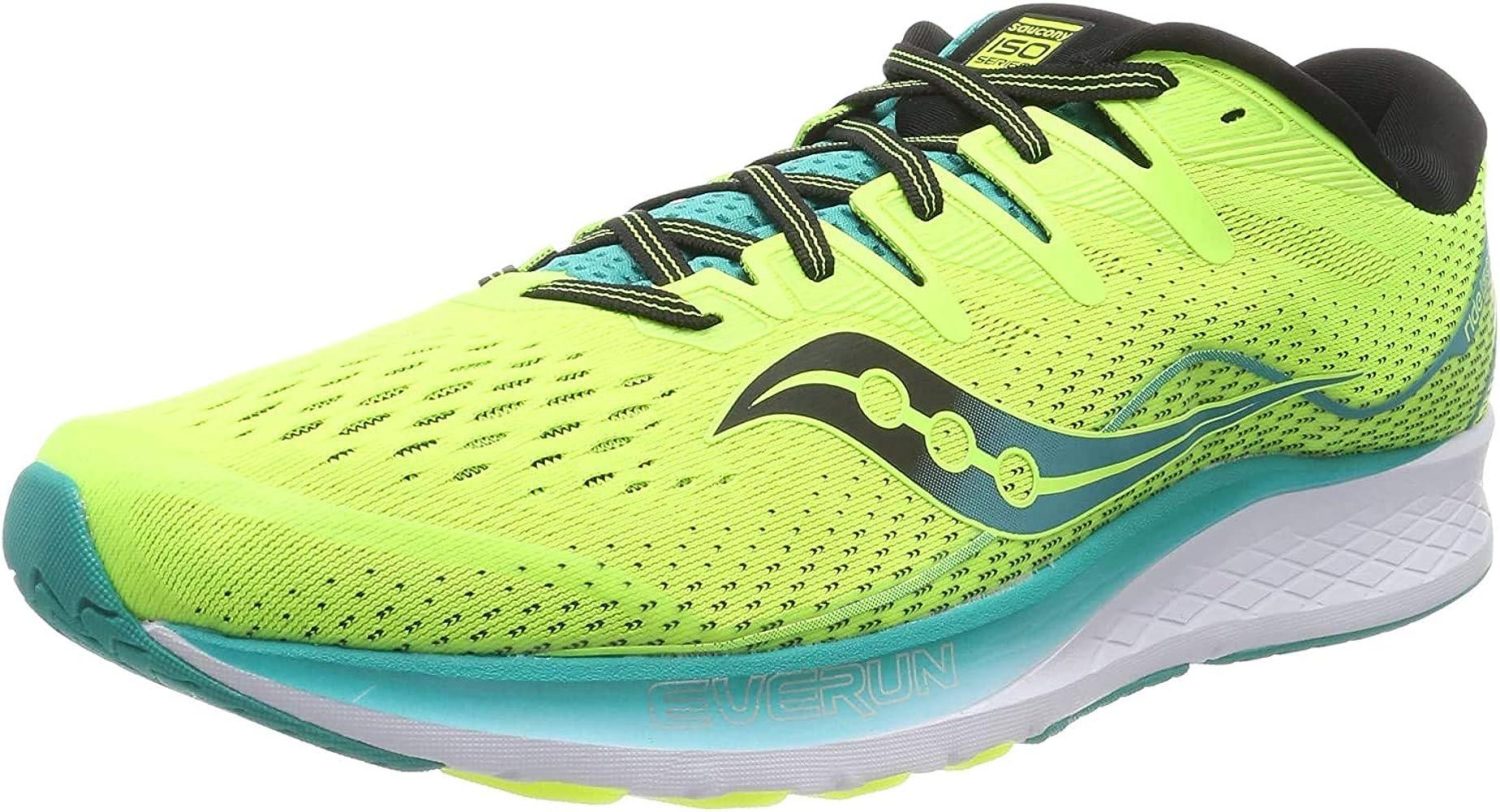 Saucony RIDE ISO 2, Zapatillas de Running por Hombre, Amarillo ...