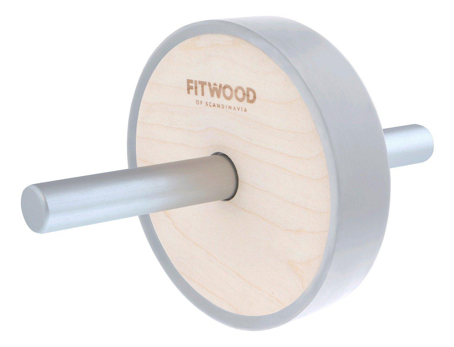 FITWOOD™ Ab Wheel Kjerag, Holz Natur/Silber