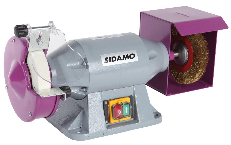 Trommel mit Schleifstein/Bürste, Serie Pro TM150B SIDAMO