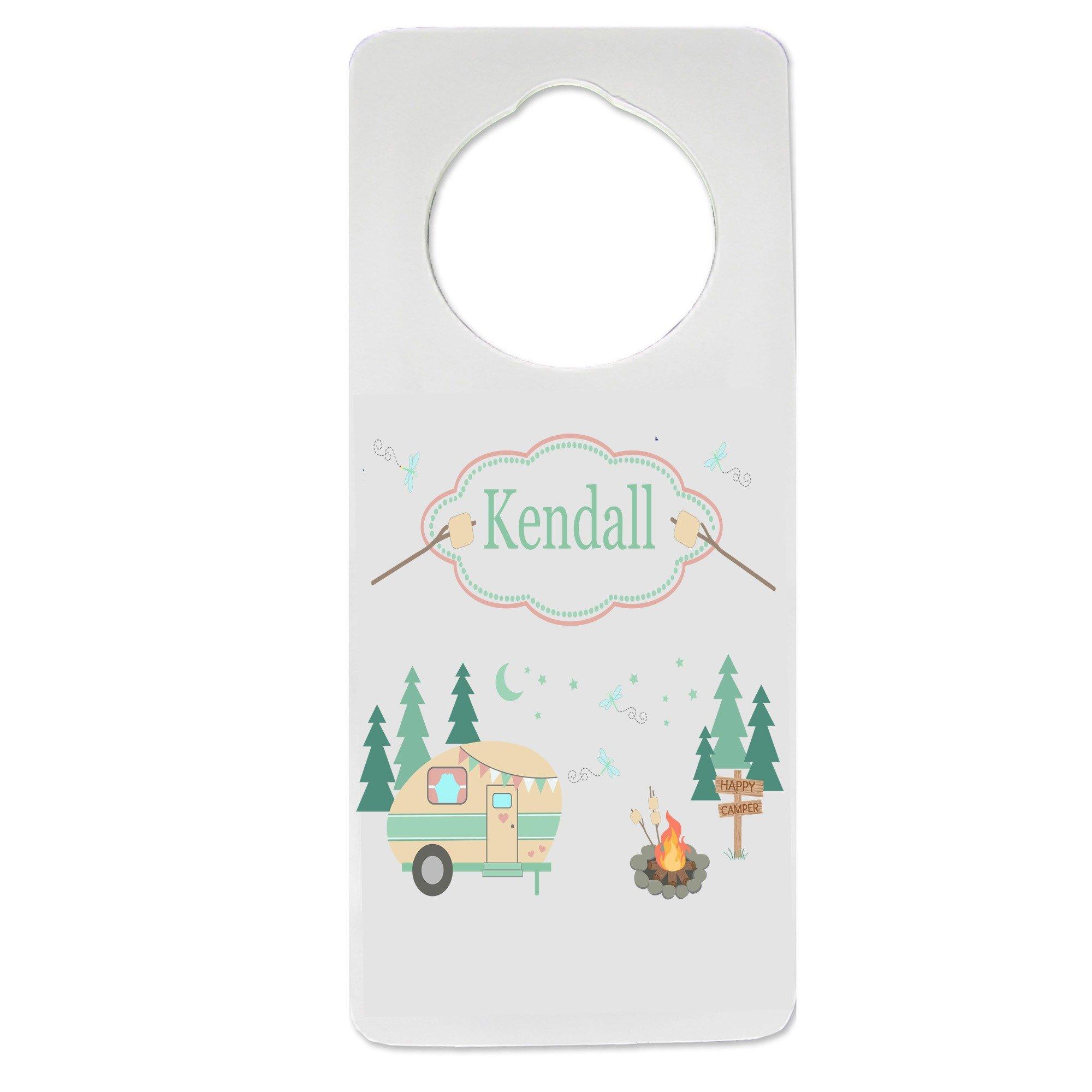 Personalized Camp Smores Nursery Door Hanger
