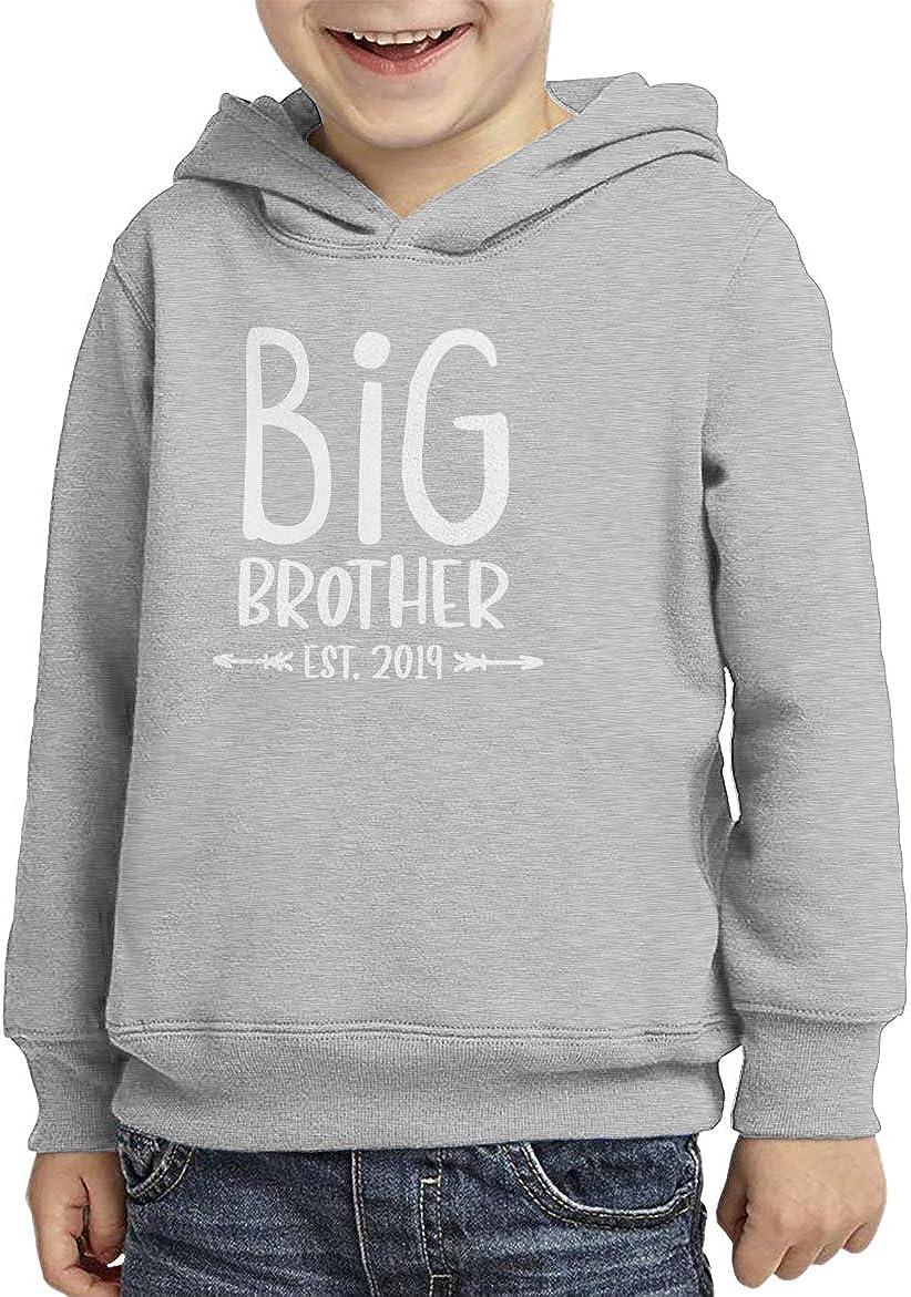 Big Brother Est Bro Toddler//Youth Fleece Hoodie 2019