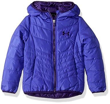 a5196321c06e Amazon.com  Under Armour Girls  ColdGear Prime Puffer Jacket  Clothing
