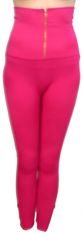 2 Kool Women's Basic Slim Fit Full Length Leggings With High Waist And Zipper