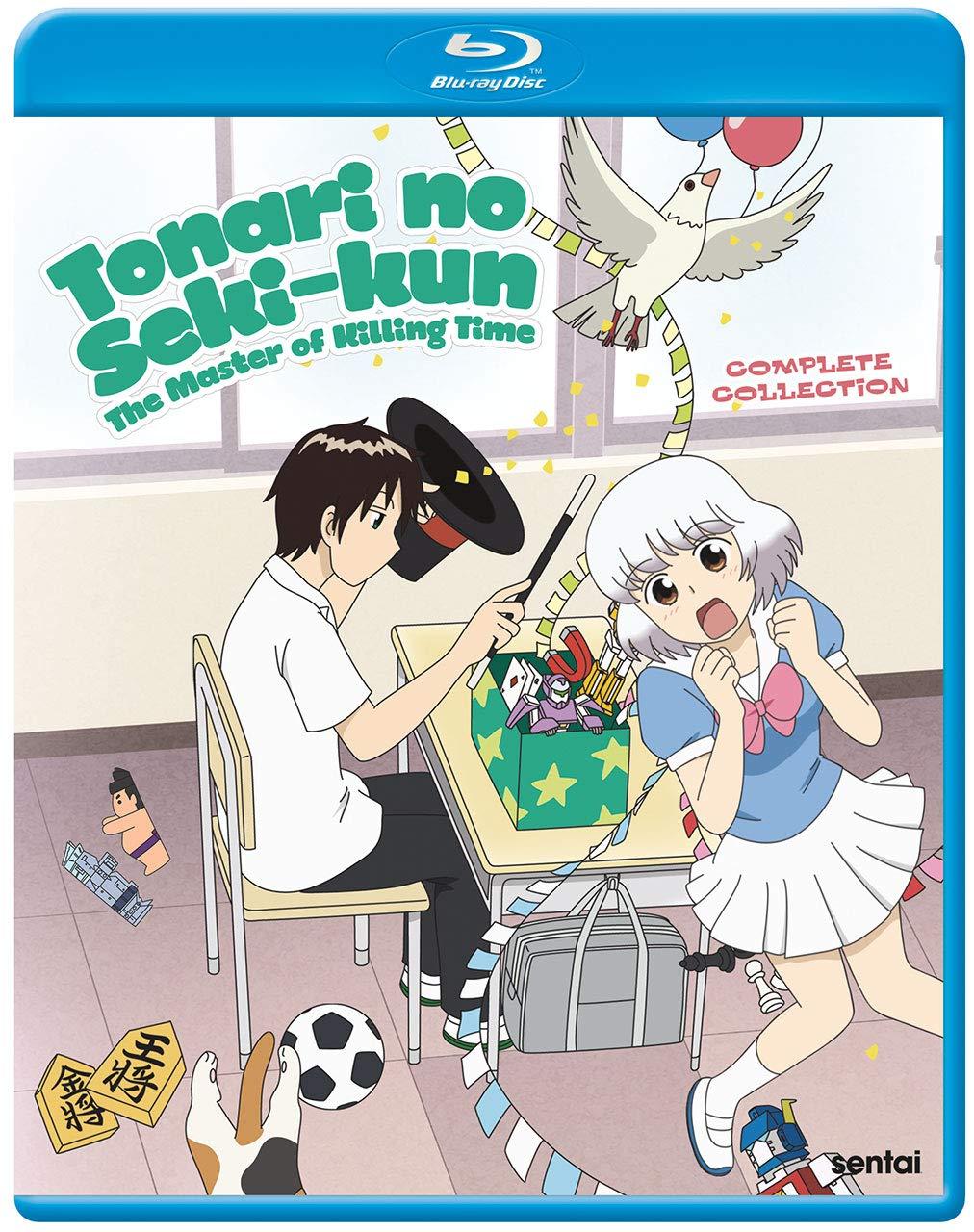 Tonari no Seki-kun: The Master of Killing Time Blu-ray (Dual Audio)
