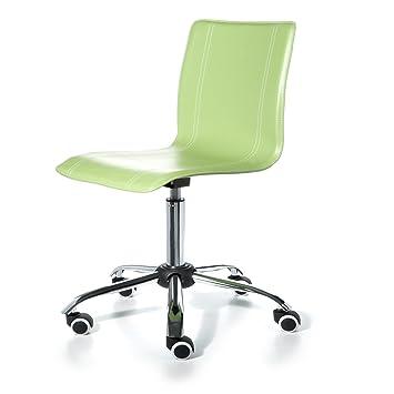 Silla de escritorio infantil y juvenil color verde