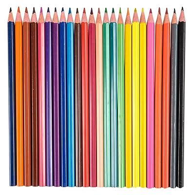 安い ArtCreativity Multi Colored Pencils for Kids (24 Pack) | Pre