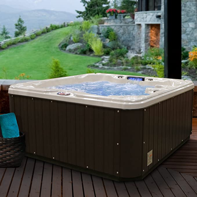 Amazon.com : American Spas AM-630LS 5-Person 30-Jet Lounger Spa with ...