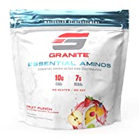 Granite® Essential Amino Acids + Branched Chain Amino Acids + Electrolytes (Fruit...