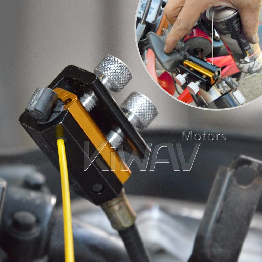 KiWAV Cable Lube Luber Lubricator Lubricant tool for Motorcycle Scooter Bike: Automotive