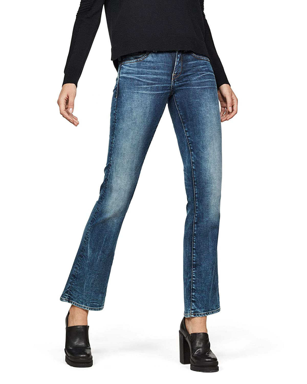 G-STAR RAW Midge Saddle Mid Waist Bootcut Jeans para Mujer