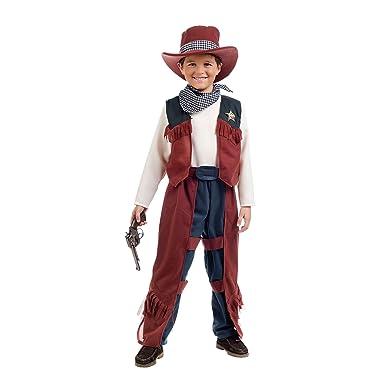 Elbenwald Cowboy Billie Kostum Kinder 5tlg Hose Hemd Mit Weste