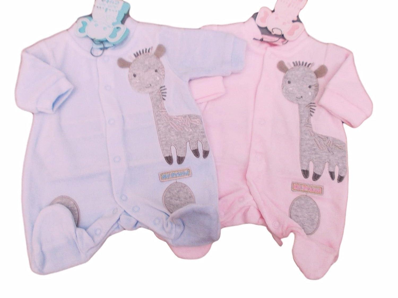 d13c1e7fc BNWT Tiny Baby Premature Preemie boys or girls Giraffe velour ...