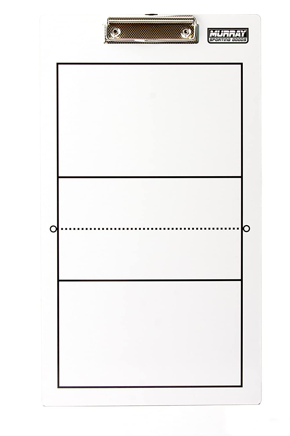Murray Sporting Goods Dry-Erase Double Sided Volleyball Coaches Clipboard