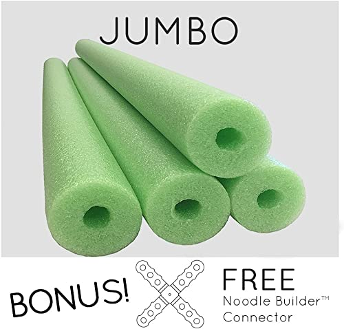 Oodles Monster Jumbo Swimming Pool Noodle – Set of 4ea