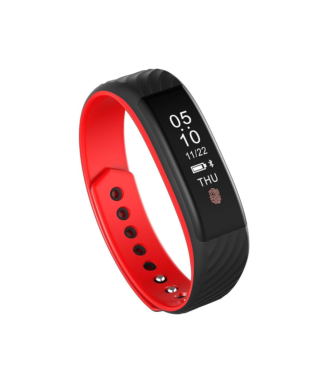 Fitness Tracker orologio impermeabile Pedometro GPS Sport impermeabile W810 Schermo a colorei Braccialetto intelligente Braccialetto
