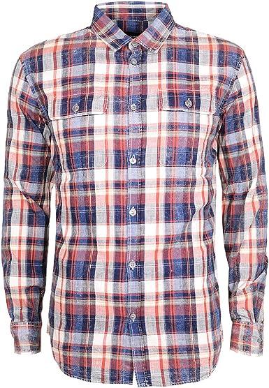 DSquared - Camisa casual - Manga larga - para hombre Multicolor multicolor 85: Amazon.es: Ropa y accesorios