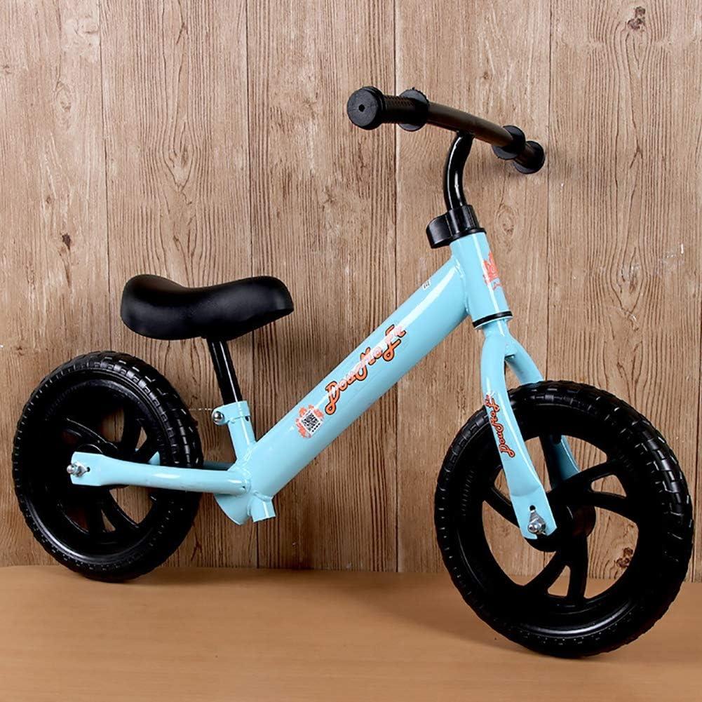 ZXDBK Bicicleta de Equilibrio, 2 3 4 5 6 años niños niñas Bici Sin Pedales Niño Aleación de Aluminio Carreras Versátiles