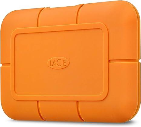 LaCie Rugged SSD 2 TB, Disco SSD Externo, USB-C USB 3.0 ...
