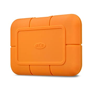 LaCie Rugged SSD 500 GB, Disco SSD Externo, USB-C USB 3.0 ...