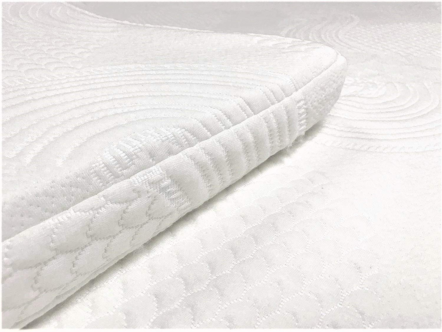 Organic Latex Supreme Mattress Topper (GOLS Certified), Premium Organic Cotton Covering