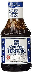 Soy Vay Veri Veri Teriyaki - Makes Poultry And Meat Marvelous Fish Fabulous Veggies And Tofu Marinade & Sauce Bottle - 21 OZ (2 pack)