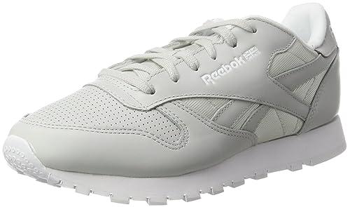 Reebok Classic Leather FBT, Zapatillas para Mujer, Gris