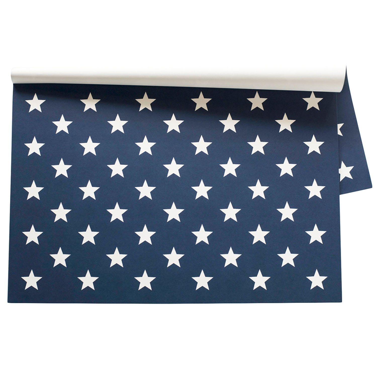 Kitchen Papers Stars On Blue Paper Breakfast Lunch Dinner Party Placemats