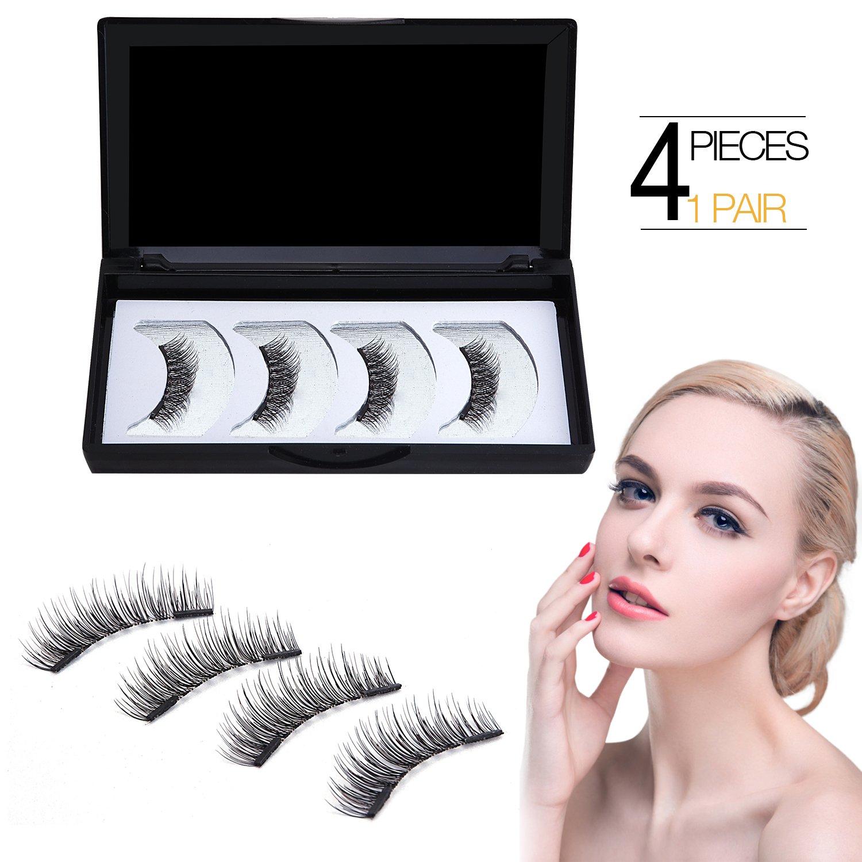 Amazon Websun Magnetic Eyelashes Dual Magnet False Eyelashes