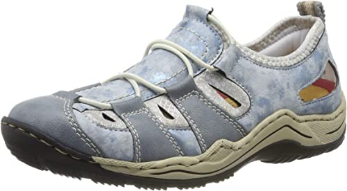 Rieker Damen L0561 12 Sneaker