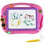 Magnetischen Reißbrett-Spielzeug Für Kinder - Löschbare Bunte Magna Doodle Graffiti-Flach-Sketschpad - Geschenk Für Junge Mädchen Jungen Kinder Reisegröße