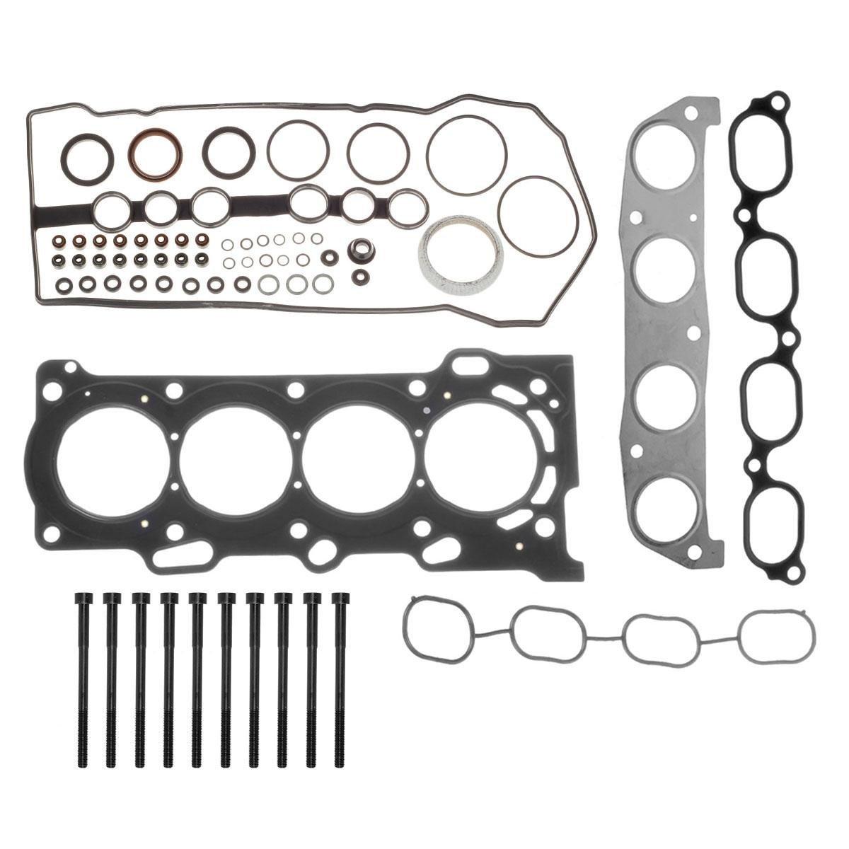 Vincos Head Gasket Bolts kit Replacement For Chevrolet Prizm Pontiac Vibe Toyota Corolla Celica GT Matrix XR MR2 Spyder 1.8L L4 DOHC 1ZZFE