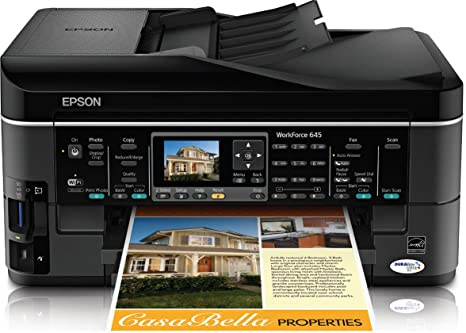 Amazon.com: Epson WorkForce 645 Wireless All-in-One Color ...